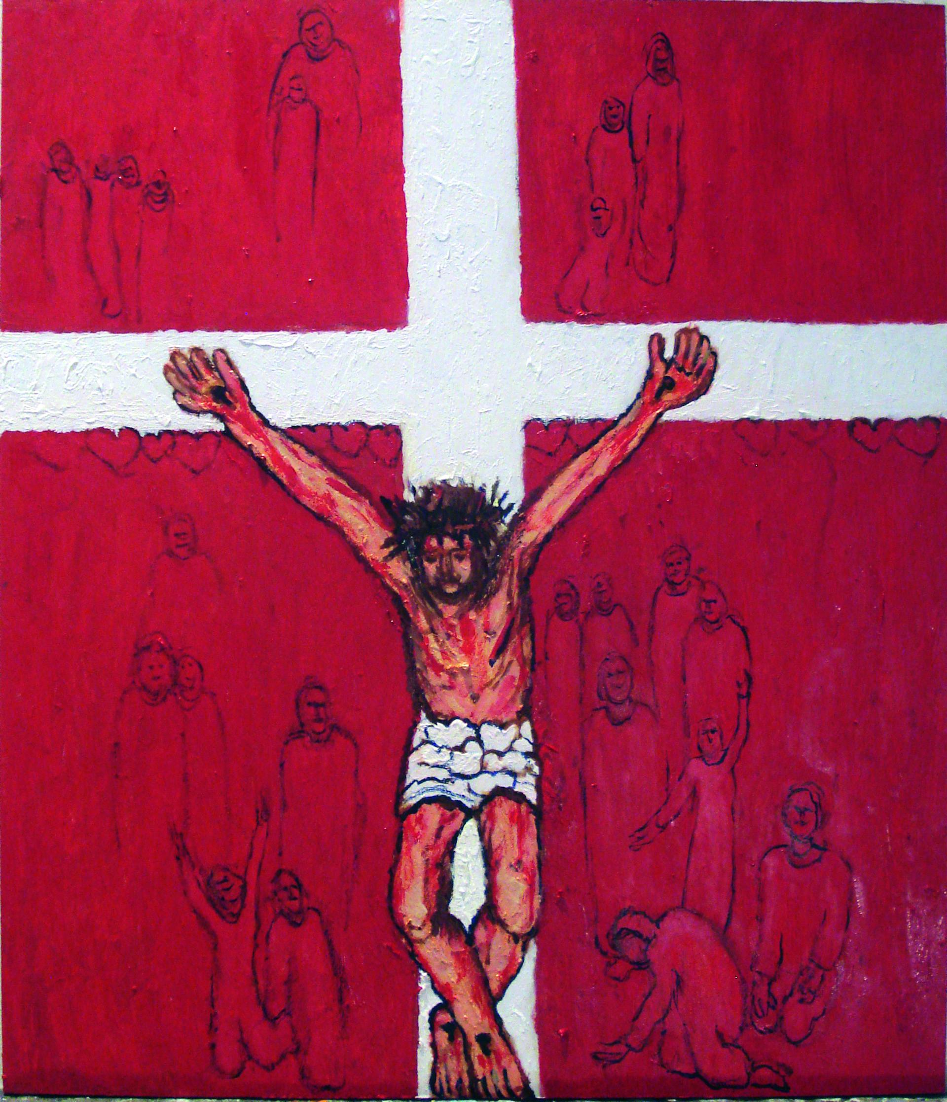 039-golgata i det danske flag